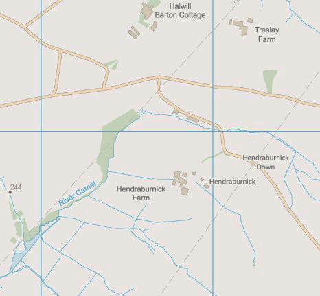River Camel Source Map