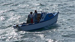 Sea angling and boat charter trips to view the coast