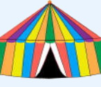Rainbow Marquees for hire in Cornwall